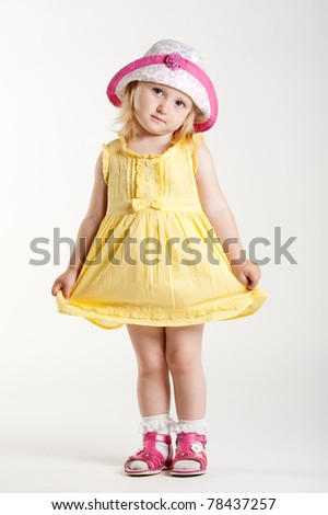 beautiful girl - stock photo