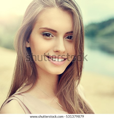 beautiful woman stock photo 530967340 shutterstock at home self tanner at home self tan