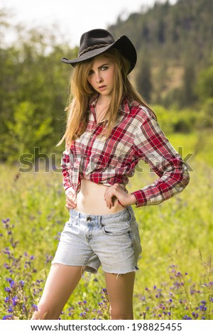 Portrait young boho woman outside stock photo 478717066 for Girl in flannel shirt
