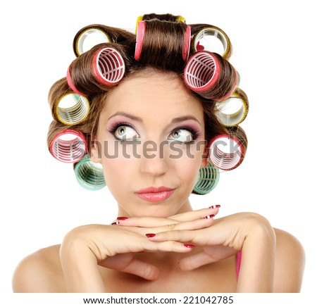 Sex hair rollers curlers