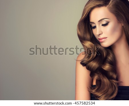 Beautiful girl long wavy shiny hair 457582534 shutterstock voltagebd Gallery