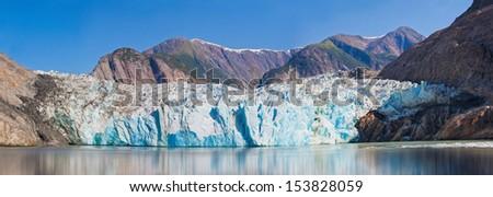 Beautiful Glacier in Alaska - stock photo