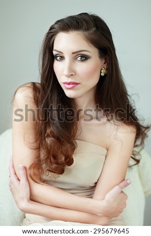 Beautiful Young Sexy Girl Stock Photo 110602286 Shutterstock