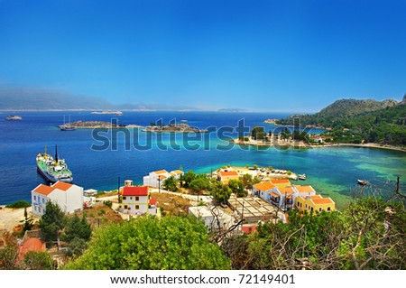 beautiful greek islands series - Kastelorizo