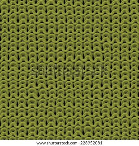 beautiful green texture of knitwear pattern - stock photo