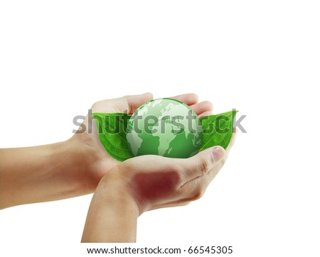 Beautiful hand Young - stock photo