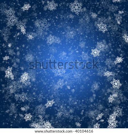 beautiful high-res illustration with a holiday  winter subject - stock photo