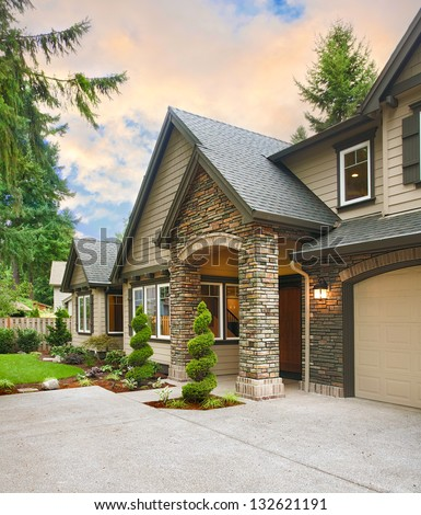 Beautiful Home - stock photo