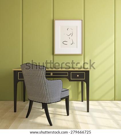colorful interior playroom 3d render photo stock illustration 73743823 shutterstock. Black Bedroom Furniture Sets. Home Design Ideas