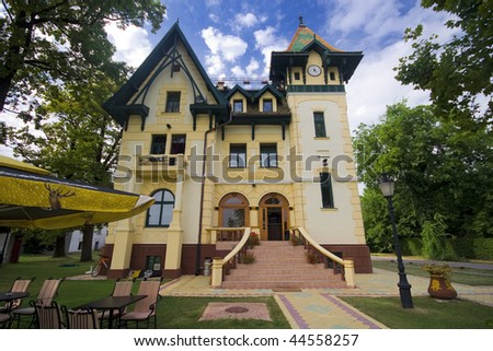 beautiful house in Subotica, Serbia