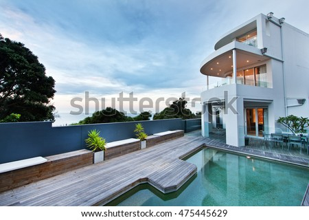 House Pool Stock Images RoyaltyFree Images Vectors Shutterstock