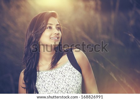 Indian woman dancing in traditional dress Stock Photos, Illustrations ...