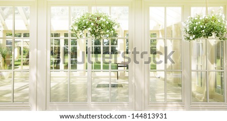 Beautiful interior - stock photo
