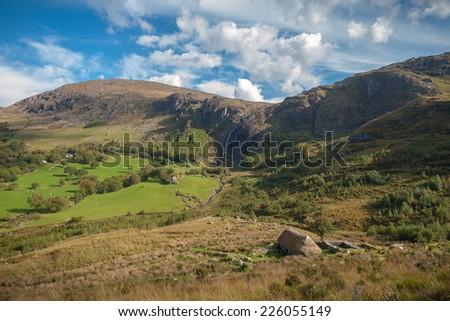 Beautiful Irish Scenery - stock photo