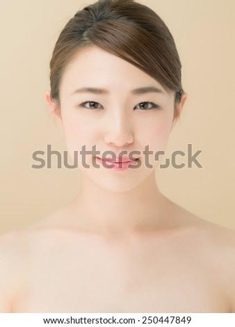 Beautiful Japanese Girl - stock photo