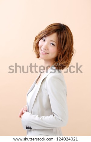 beautiful japanese woman - stock photo