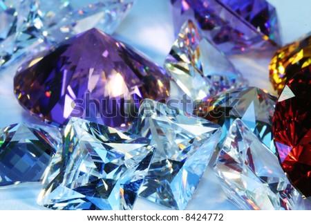Beautiful  jewels - stock photo