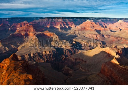 Beautiful Landscape of  Grand Canyon National Park in Arizona, USA