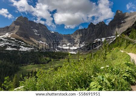 beautiful landscape photography. beautiful landscape photography of glacier national park in montana usa
