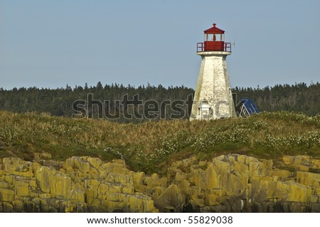 Beautiful Lighthouse - stock photo