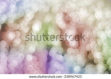 Beautiful lights bokeh background - stock photo