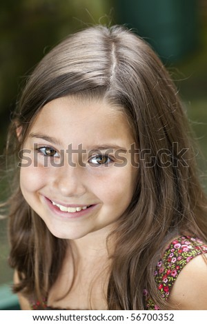 Stock Images Similar To Id 15575200 8 Year Old Girl In