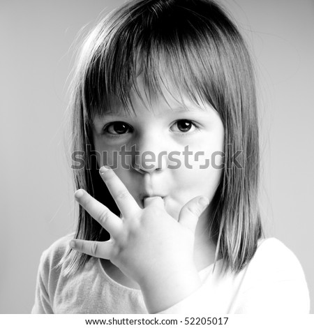 beautiful little princes - stock photo