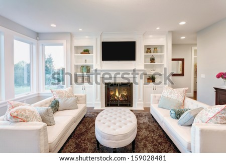 Cozy Living Room Stock Images, Royalty-Free Images & Vectors ...
