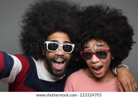 Beautiful Love couple - stock photo