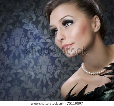 Beautiful Luxury Woman portrait - stock photo