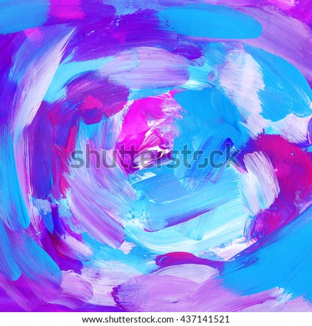 Beautiful  modern abstract background, blue and pink colors - stock photo