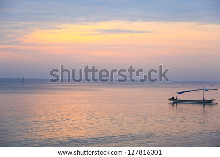 Beautiful Morning Sunrise - stock photo