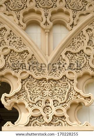 Beautiful Moroccan Architecture - stock photo