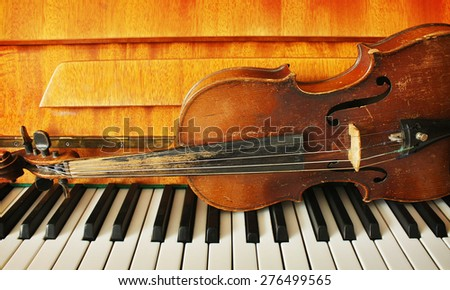 Beautiful music instruments
