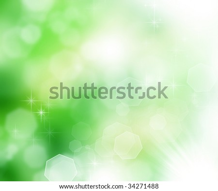 Beautiful Nature Bokeh - stock photo