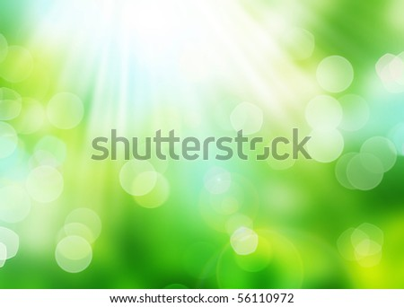 Beautiful Nature Bokeh.Blurred background - stock photo