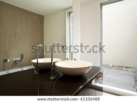 beautiful new apartment - stock photo