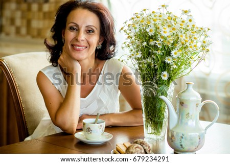 Chair Old Sitting Woman Stock Images Royalty Free Images