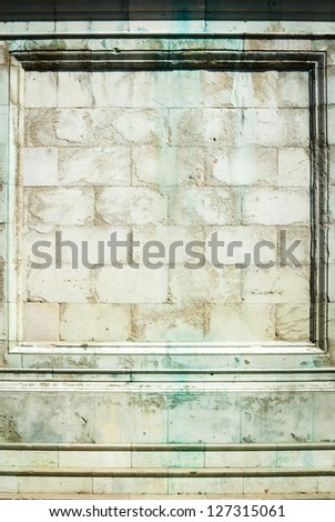 beautiful old wall with ornament - nice background with space for text