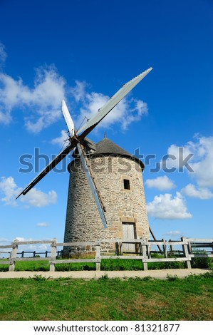 Beautiful old windmill