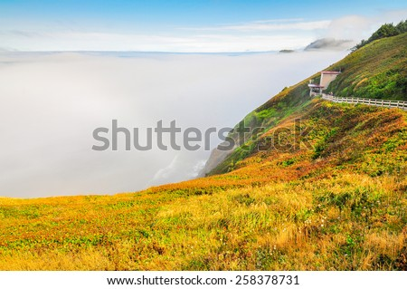 Beautiful Oregon Coast - Florence, Oregon, USA - stock photo