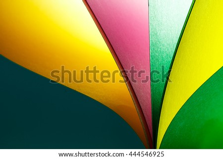 Beautiful paper color background and abstract with green tone