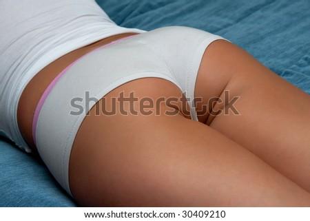 Beautiful part of women`s body. - stock photo