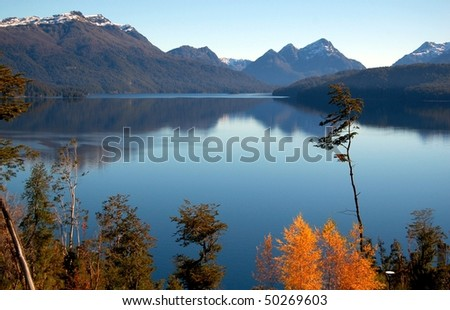 Beautiful Patagonia - stock photo