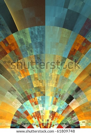 beautiful patchwork style texture - stock photo
