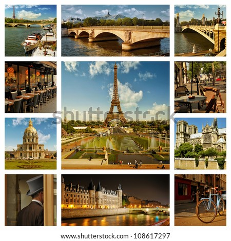 Places To Travel Collage