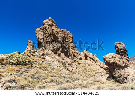 beautiful pictures of rocks on Mount Teide