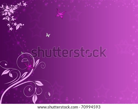 Beautiful pink floral background - stock photo