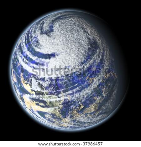 Beautiful Planet Earth - stock photo