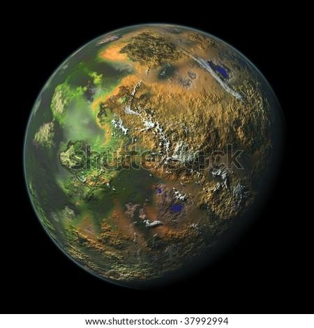 Beautiful Planet Earth # 1 - stock photo